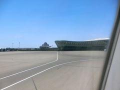 アゼルバイジャンの首都バクーは、ヘイダルアリエフ国際空港に到着。  空港の建物に入ったら、早速、取得のための機械が何台か置かれているので、そこでビザを取得した。 わからなくて止まっていたりすると、職員さんが教えてくれるので、楽勝。