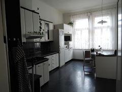 プラハ(チェコ)で借りたアパートメント
