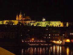 プラハ城 夜景