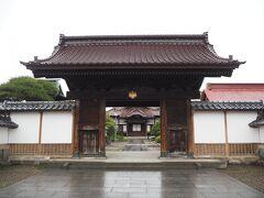 途中、三宝寺へ。天童織田藩主の菩提寺だということです。 まぁ、普通のお寺でした。