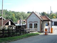 修道院の裏、川の手前にビール工場があります。