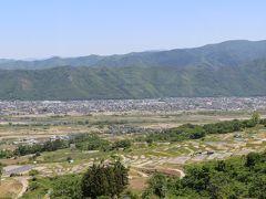 日本三大車窓のひとつ  ホームからみる棚田の景色