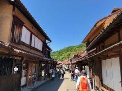 町並みのメインストリート  古きよき時代の日本な感じ