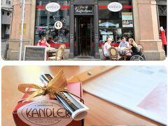 Cafe Kandler(カフェ・カンドラー)  バッハトルテ、バッハテラー等、バッハにちなんだお菓子が置いてあります。今回は友達にライプツィヒ銘菓「Leipziger Lerche(ライプツィガー・レアヒェ)」を購入。焼き菓子です。  以前もあったか記憶が定かでは無いのですが、箱入りがありました。友人へのお土産を潰さず持ち帰ることが出来ました!