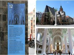 12 Nikolaikirche / ニコライ教会   ライプツィヒ最古の教会。バッハは市の音楽総監としてニコライ教会、トーマス教会の両方を監督していました。旧東ドイツ崩壊のきっかけとなった市民集会が行われた、歴史的にも重要な場所です。