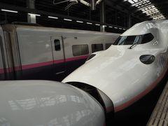 15:00の月岡温泉のバスに乗って豊栄駅へ。そこからの電車の接続はとても良く新幹線までスムーズに乗れました。帰りは連結されたMAX。