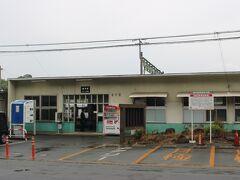 その後、まずJR植木駅へ。 かつてここは植木町という自治体でしたが、現在は熊本市北区です。