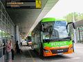 5月21(火)、「Budapest Nepliget Bus Station」から11時30分発のFlixBusに乗ってクロアチアの首都・ザグレブへ向かいます。所要4時間55分で運賃は約19ユーロ(2375円)。  バスターミナルで余っていたハンガリー通貨11,290Ft(フォリント)を34ユーロに両替。最後はアテネに行くのでユーロだったら使い道があります。