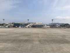 順調なフライトで、米子鬼太郎空港に到着しました! 初めて降り立つ山陰の地です。