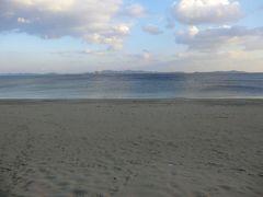 16:00 篠島サンサンビーチに戻りました。