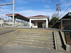 10:18 名鉄の知多武豊駅から11分。 JR武豊線の「武豊駅」に着きました。