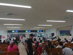 大雨警報中の沖縄本島、しかも慰霊の日。 道中警備がすごくて、空港までの道が大渋滞! 間に合わないかと思った(;'∀') 初日出発前から、行き当たりばったりのプランニングの甘さを痛感。