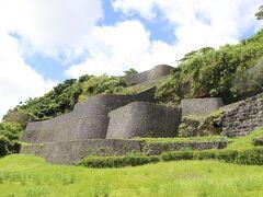美しい曲線の石垣