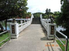 台南駅から徒歩5~6分にある台南公園に寄ってみました。