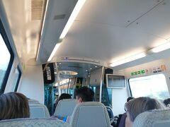 空港鉄道で市内へ向かいます。  KKDAYでチケットを購入したら50円くらい安くなりました。