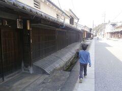 宇陀松山城の城下町を散歩します。