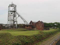 宮原抗の下には三池炭鉱専用鉄道跡が残っています。 三池炭鉱専用鉄道は石炭を三池港まで運び、三池港から船で国内、海外へ運ばれました。