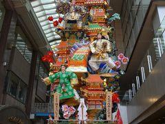 博多祇園山笠 十一番 博多リバレイン 飾り山笠