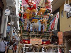 博多祇園山笠 八番 上川端通り 飾り山笠