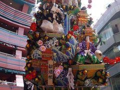博多祇園山笠 十六番 キャナルシティ博多 飾り山笠