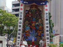 博多祇園山笠 十三番 渡辺通り一丁目 飾り山笠