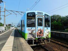 2019.07.06 牛ノ浜 対向列車待ちのため小休止。