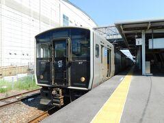 2019.07.06 川内 川内からはJR。南九州の主力電車817系に乗る。