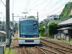 2019.07.06 南鹿児島 乗った車両は5体連接の電車だった。