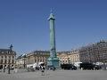 ショパンの臨終の場所 Place Vendôme (バンドーム広場)  高貴な印象の彼にふさわしい、ブランドショップに取り囲まれた美しい広場だった