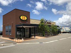 その後金沢方面へ走りながら昼食場所を探していると出てきたのは、道路拡幅のため新しい店でした。