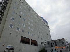 今日の宿泊は北見のドーミインホテルです 今日の根室から北見までの走行距離は290,5kmです。