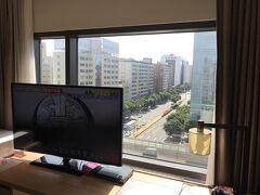 2日目朝 「ホテル コッツィ 台北民生館」 コッツィ コーナーツインルーム(30平米)