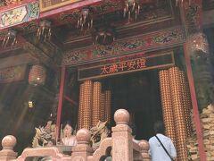 2日目午前 雙連朝市の途中にある「文昌宮」