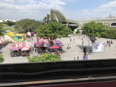 2日目午後 MRT 圓山站前 「台北花博農民市集」 ファーマーズマーケット ※土日のみ開催