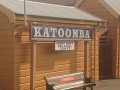 再び、シーニックワールドから686番のバスに乗って、Katoomba駅へ戻ります。