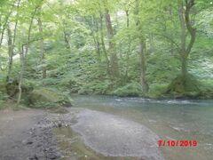 奥入瀬川。