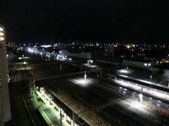 5:42 おはようございます。 アパホテル大垣駅前に滞在中です。 まだ、真っ暗ですが起床しましょう。