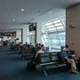 羽田空港国内線第2ターミナル。朝、無理をせず11:25発のANA 0741便にて釧路空港へ。