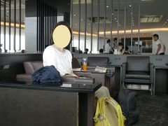 羽田空港国際線 ANAラウンジ (110番ゲート付近)