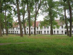 愛の湖公園から少し上がった所にある、ペギン会修道院。 世界遺産にも認定されているそうです。  建物の中には入れませんでした。