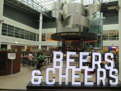 【現地時間 7月6日】  ブリュッセルの空港に到着。  さすがビールの街!