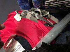 ってか荷物位トランクに積んでほしいぜよ…。