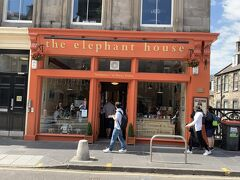 エレファントハウス。ハリポッターの作者・J・K・ローリングがここでハリーポッターを執筆したことから多くのファンが訪れる。
