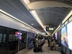 今回の台湾訪問は、成田空港→桃園空港ルート。 桃園空港からはさっそく台北駅まで直通の桃園MRTでスムーズにアクセス。
