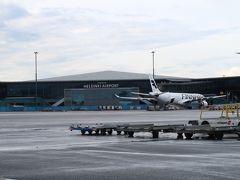 ヘルシンキ・ヴァンター空港にも遅れて到着したため、乗り継ぎに余裕がなかった。