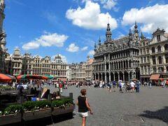 ブリュッセルのへそ、グランプラス広場。