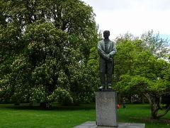 ドヴォジャーク公園 ドヴォジャークとは、チェコ語でいうドヴォルザークのこと。チェコが誇る音楽家の一人。