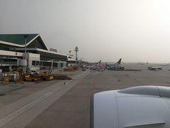 羽田→金浦 JL93便 B777-200ER 金浦国際空港到着。