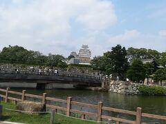 姫路城到着。長い道のりだった、、。