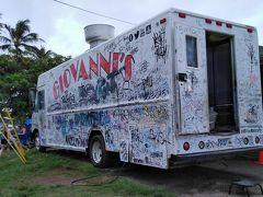 第5日目の昼ごはん ガーリックスキャンピィが美味しいフードトラックのGIOVANNI'S。